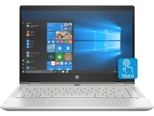 Ноутбук HP Pavilion x360 14-cd0018nl (4PS43EA)